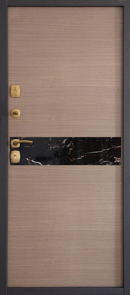 облицовка внутренней стороны железной двери