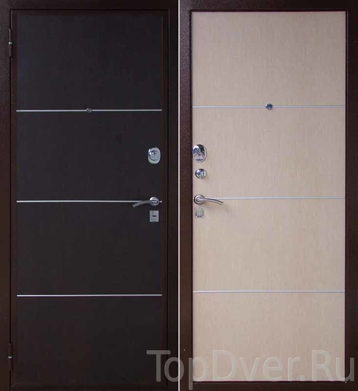 металлические двери для этажа